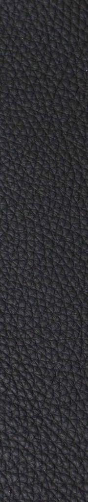 Leder schwarz