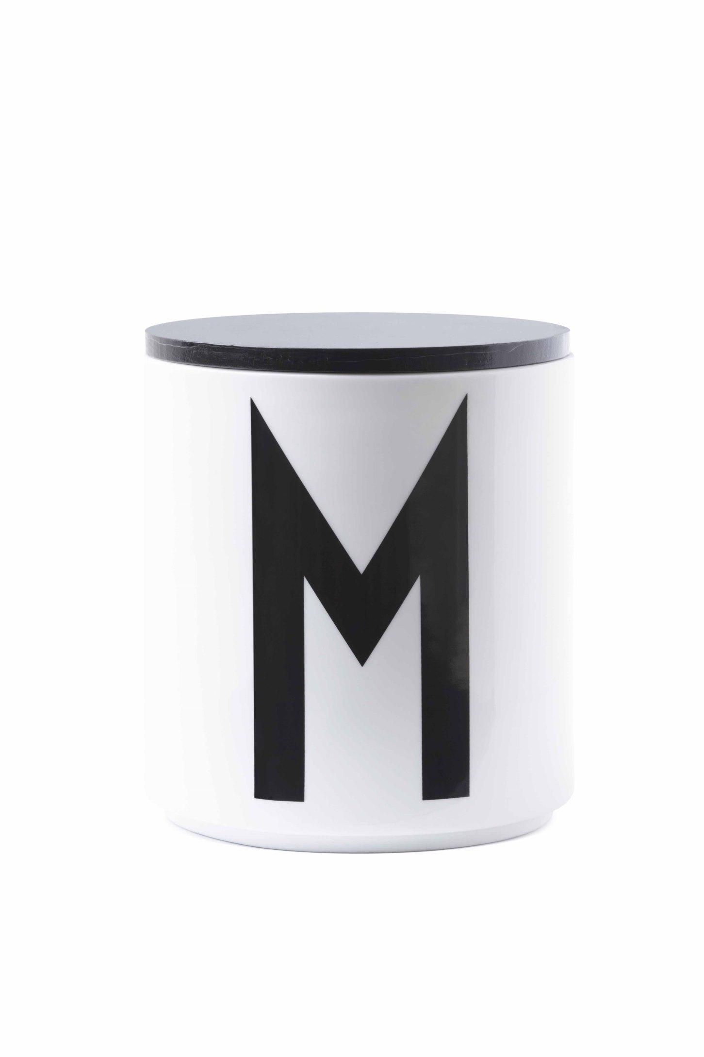 AJ M Jar Gefäß Design Letters