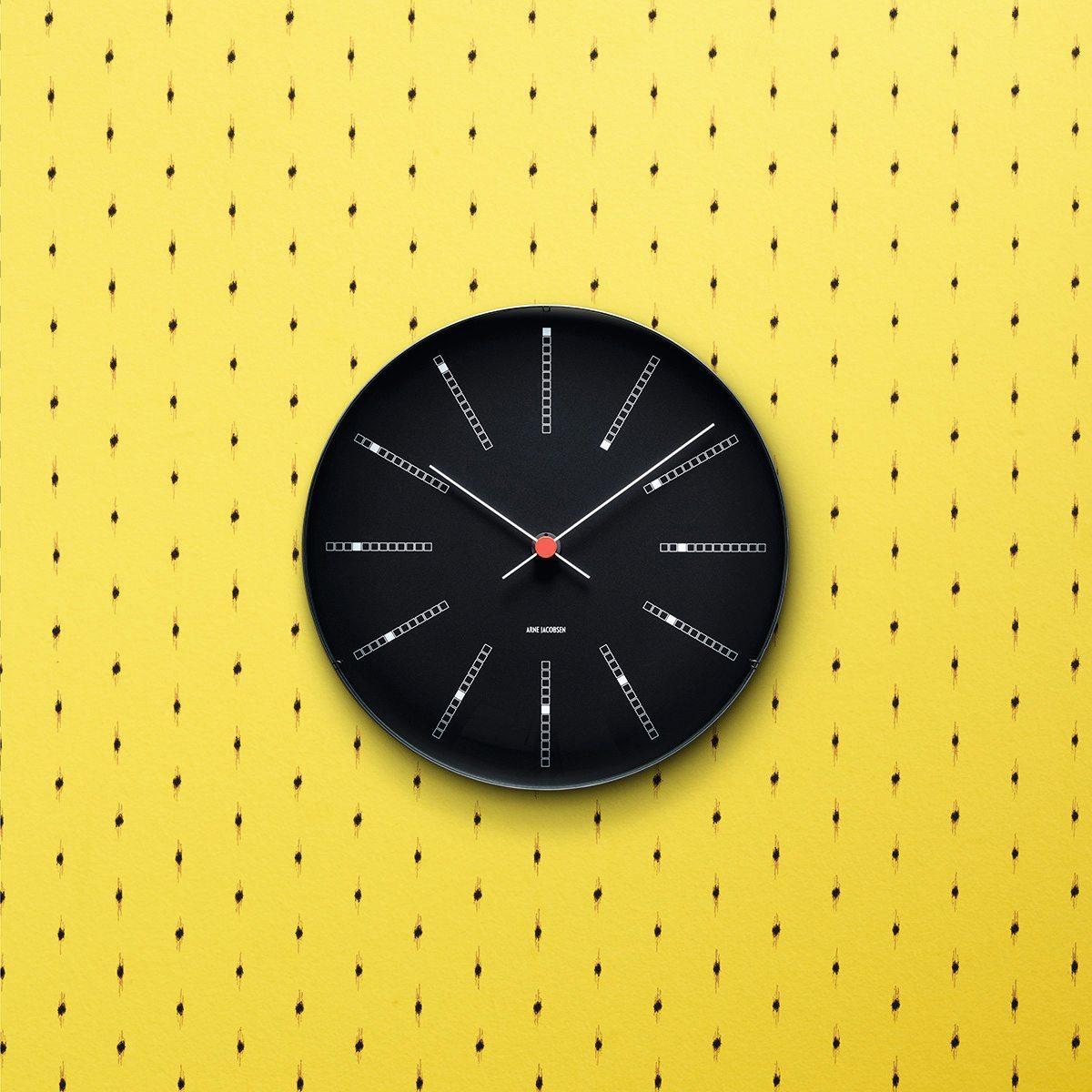 Bankers Wanduhr Ø21 cm Rosendahl Timepieces