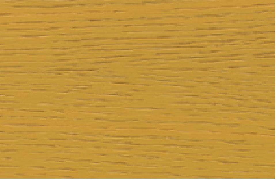 Eiche furniert, honiggelb lackiert