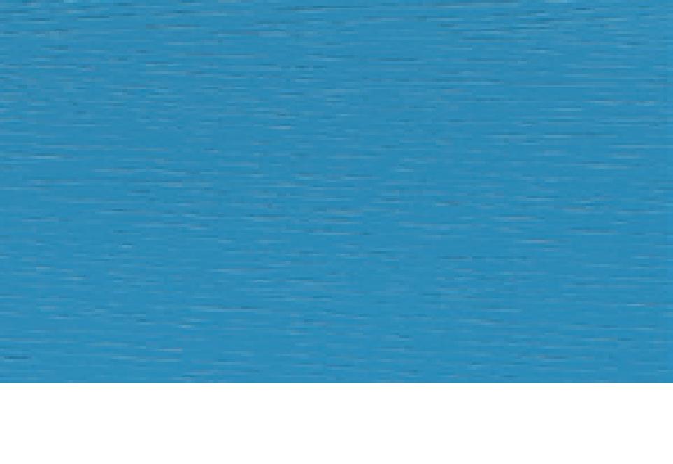 Eiche furniert, lichtblau lackiert