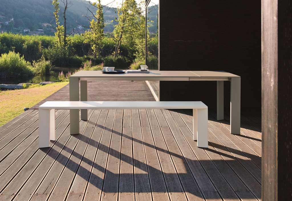 Grande Arche ausziehbarer Outdoor Tisch Fast
