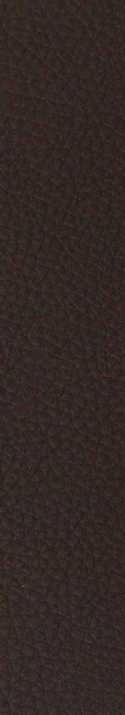 Leder schwarz-braun