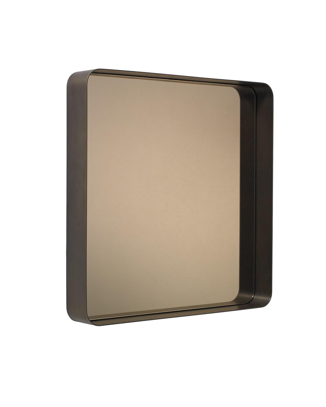 Messing brüniert / Parasolglas bronzefarbig