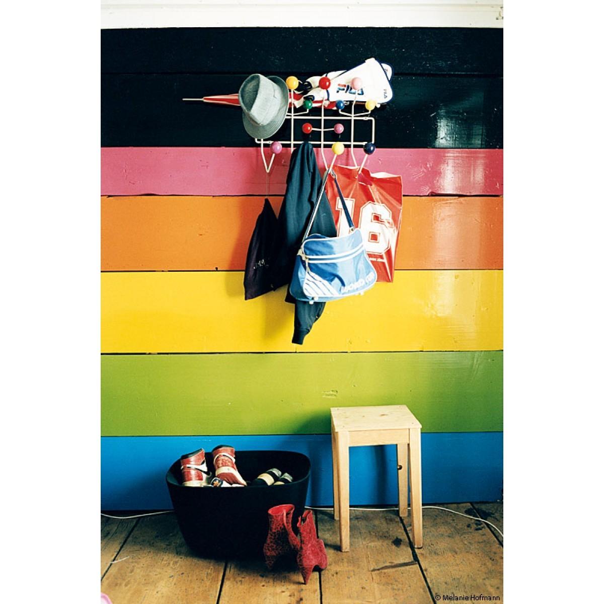 Eames Hang it all Garderobe mehrfarbig Vitra