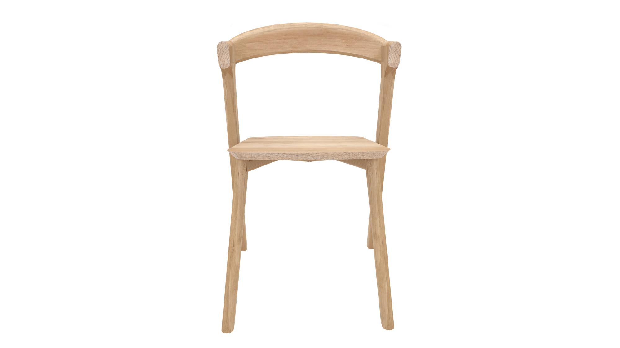 Eiche Bok Stuhl ohne Armlehne Ethnicraft