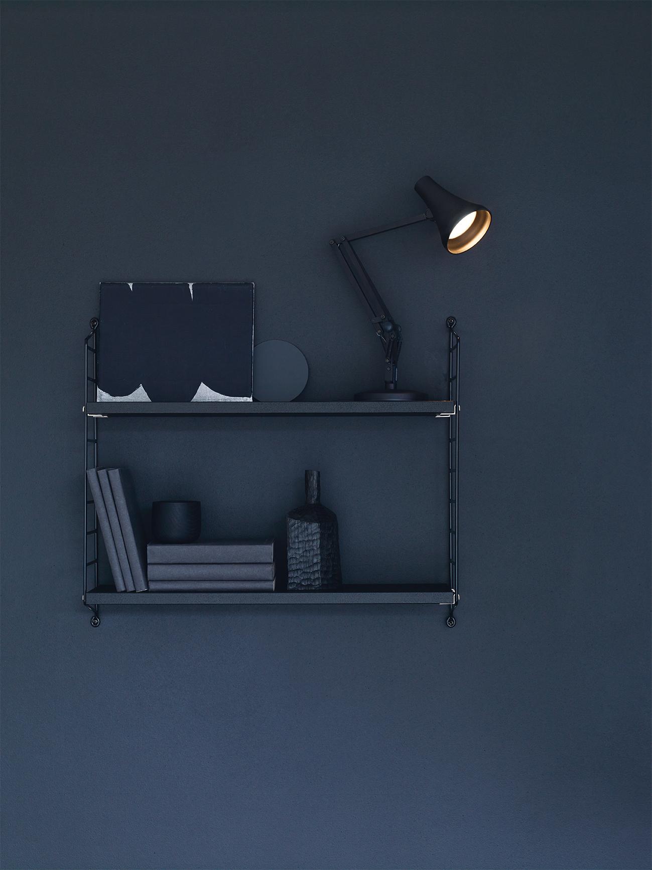 90 Mini Mini Tischleuchte Kohleschwarz & Schwarz Anglepoise