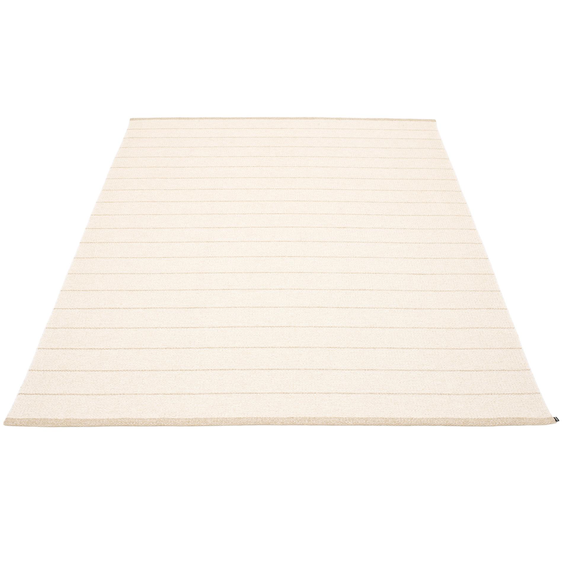 Carl Kunststoffteppich 180x260 cm Pappelina Vanille/ Weiß