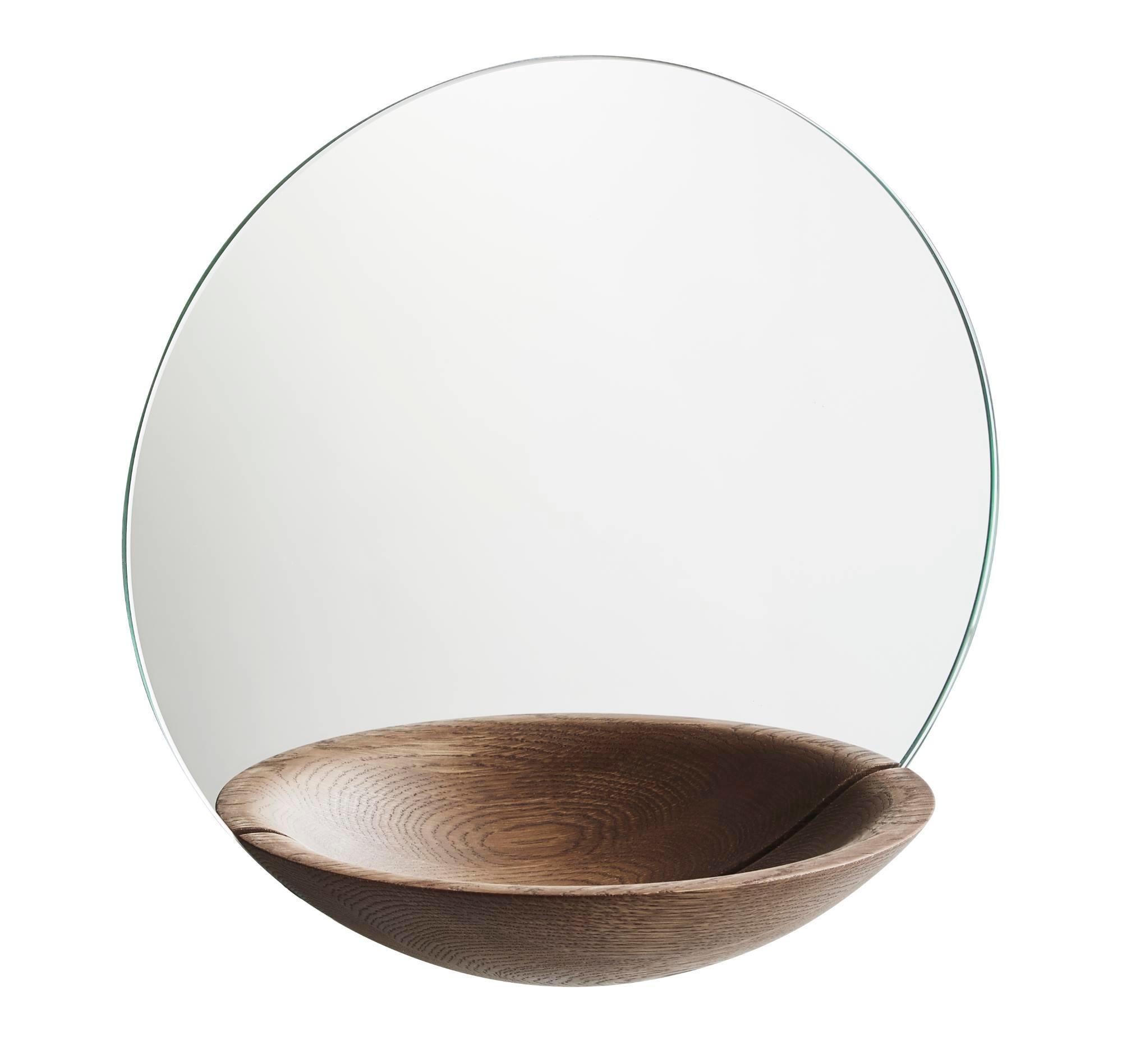 Pocket Mirror Wandspiegel Large Woud-eiche
