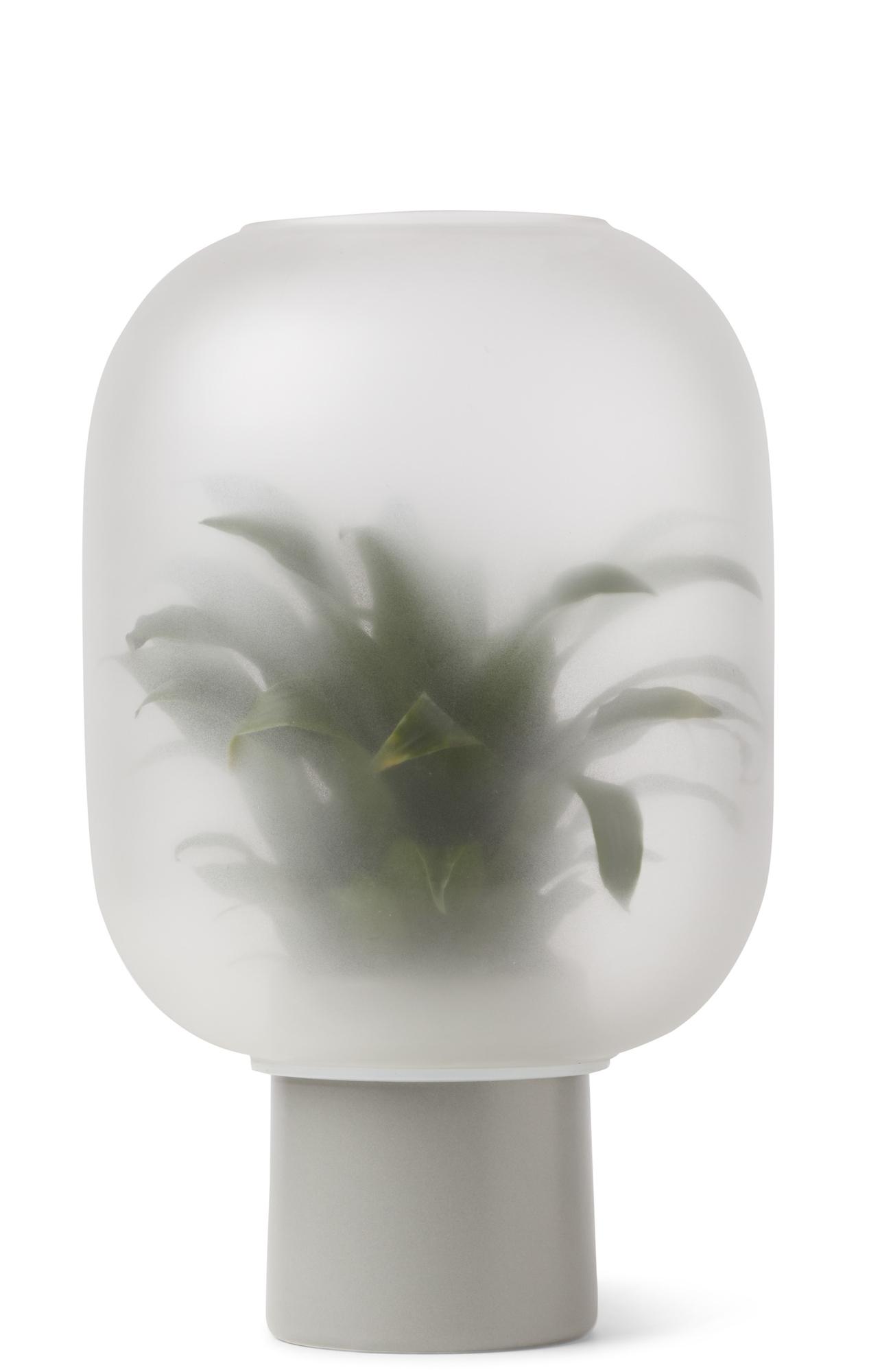 Nebl Vase Large Gejst Grau