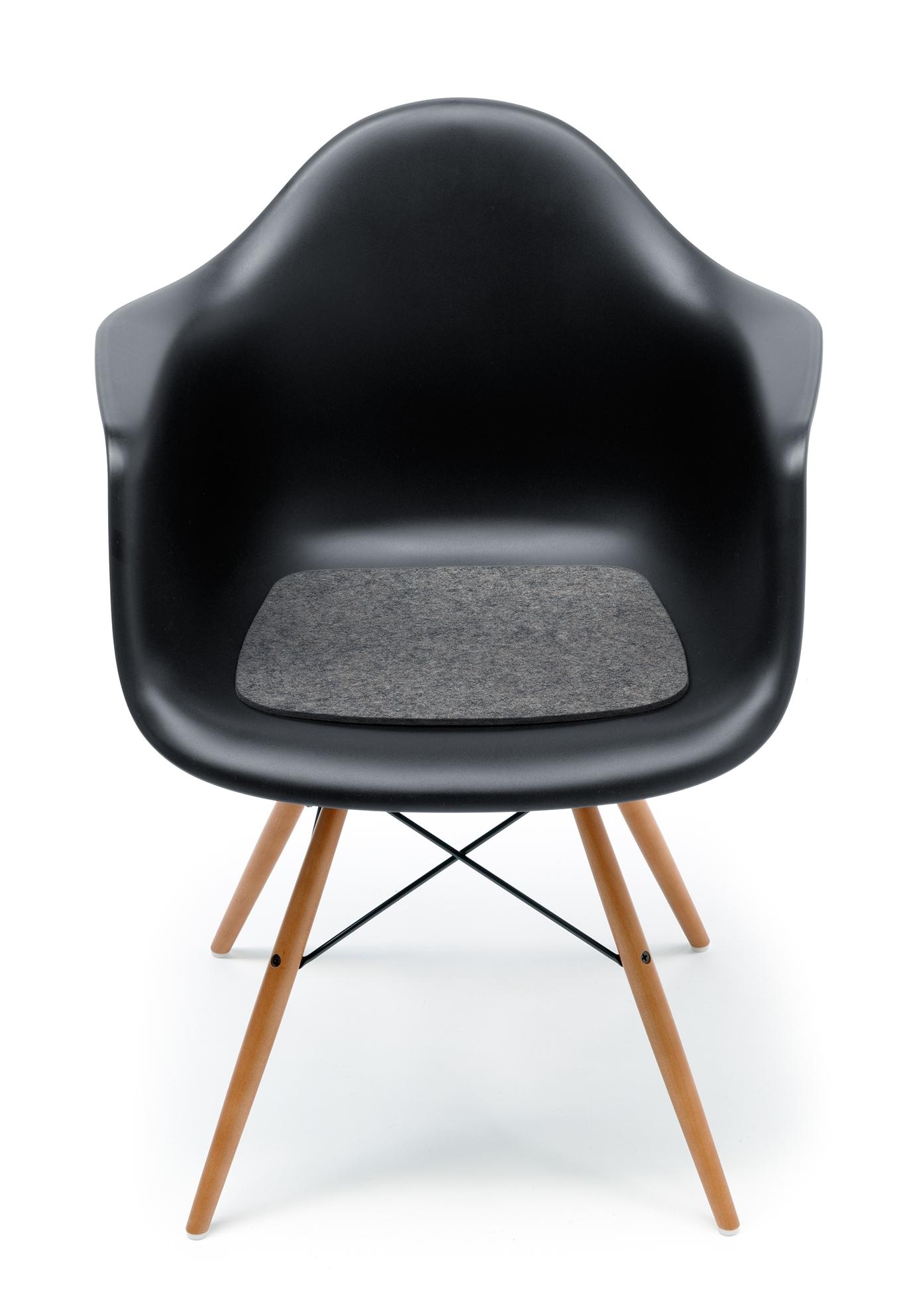 Sitzauflage-Filzauflage Eames Plastic Arm Chairs DAR / RAR / DAW / DAX Hey Sign