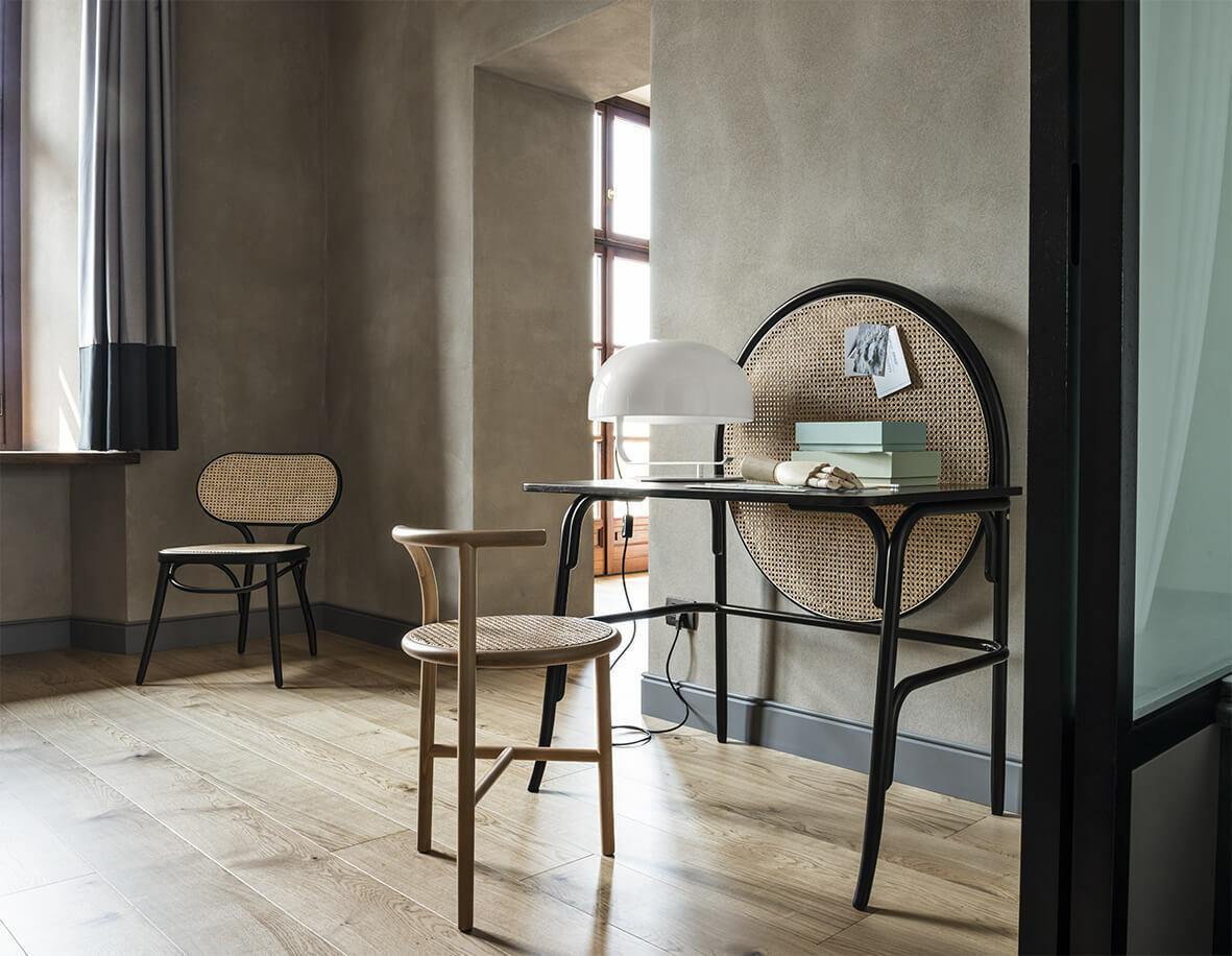 Allegory Desk Schreibtisch mit Schublade Wiener GTV Design Natur