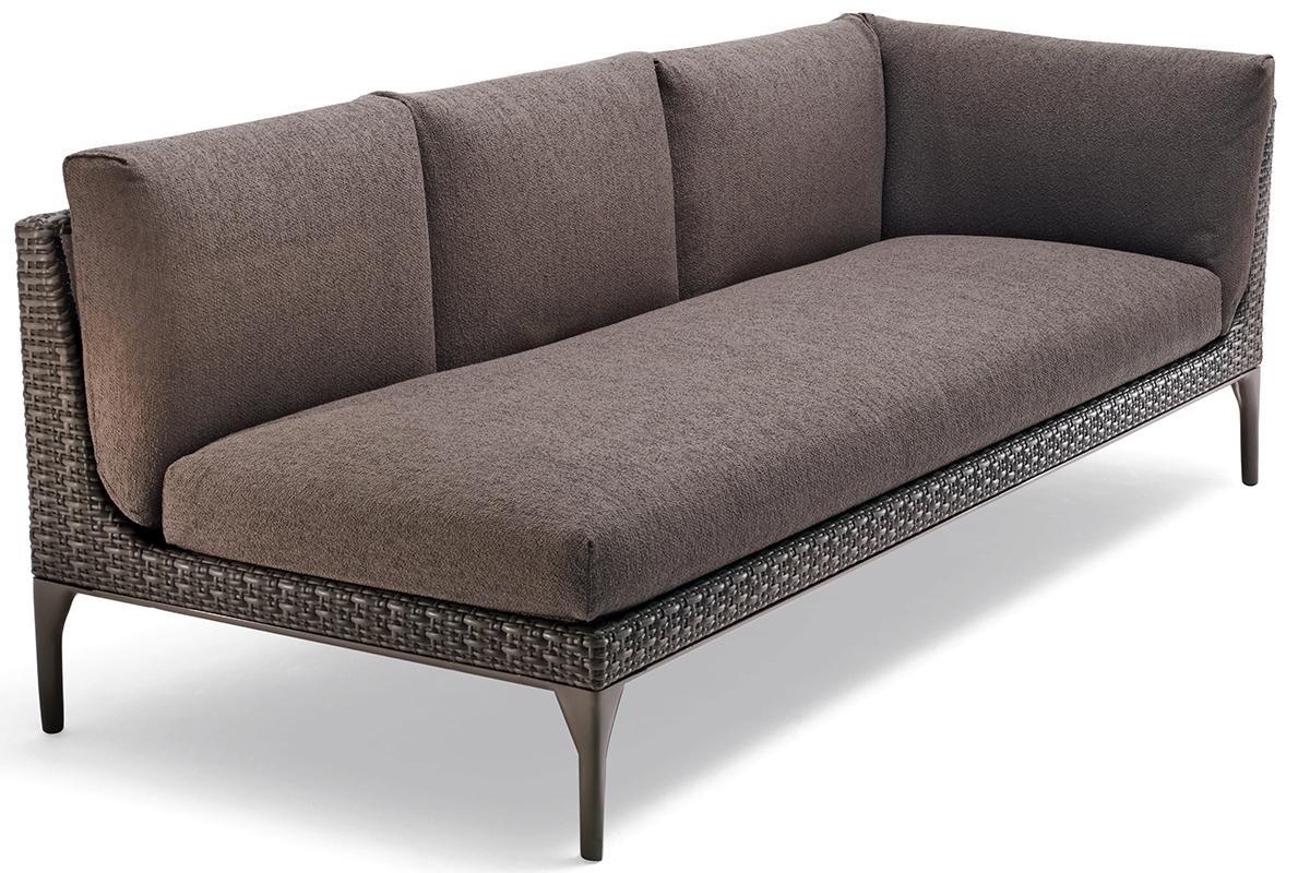 Mu Sofa XXL Modul links vulcano Dedon