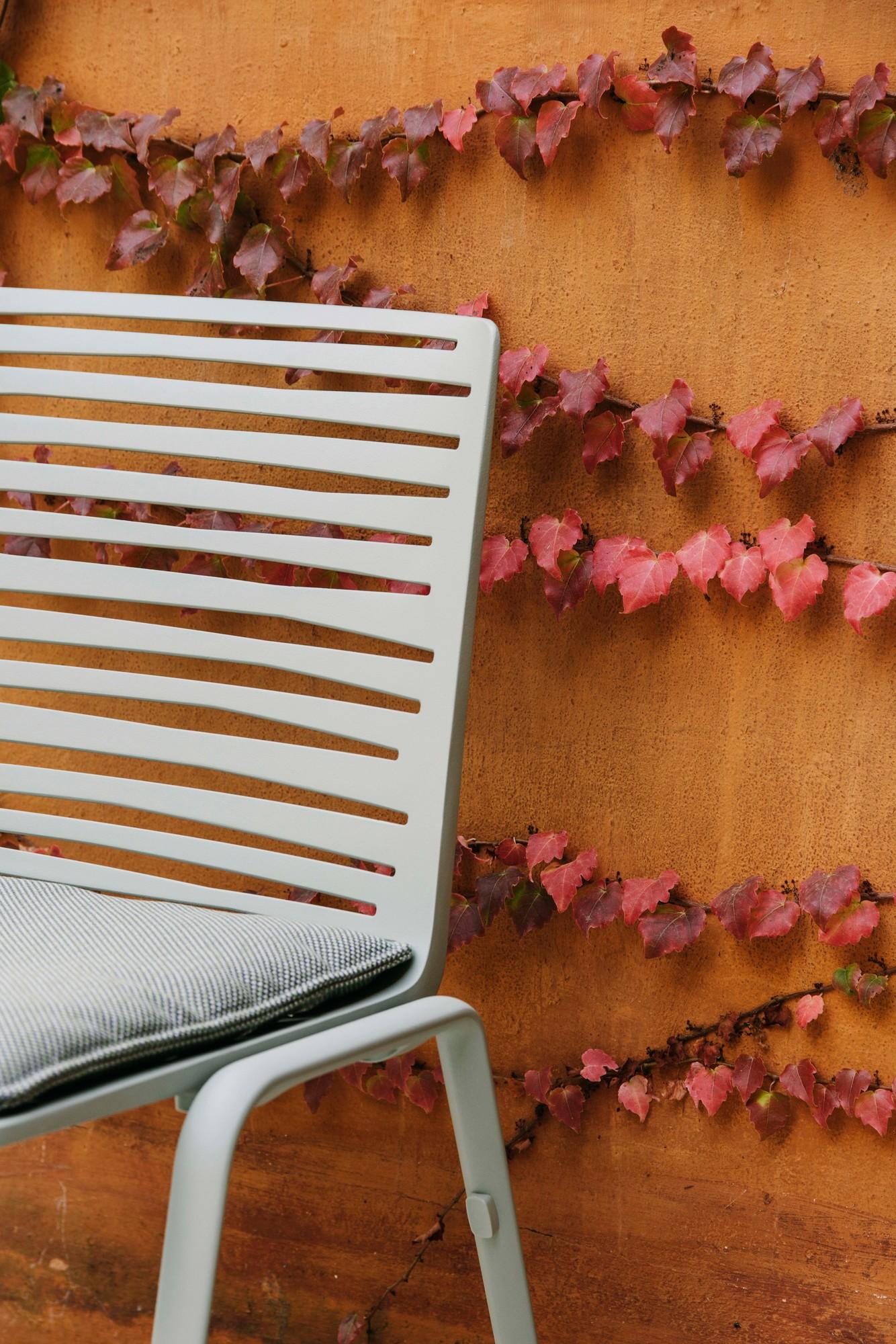 Zebra Stuhl mit Armlehnen cremeweiss Fast