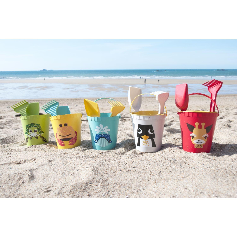 Strandspielzeug Seepferdchen grün Fantasie4Kids