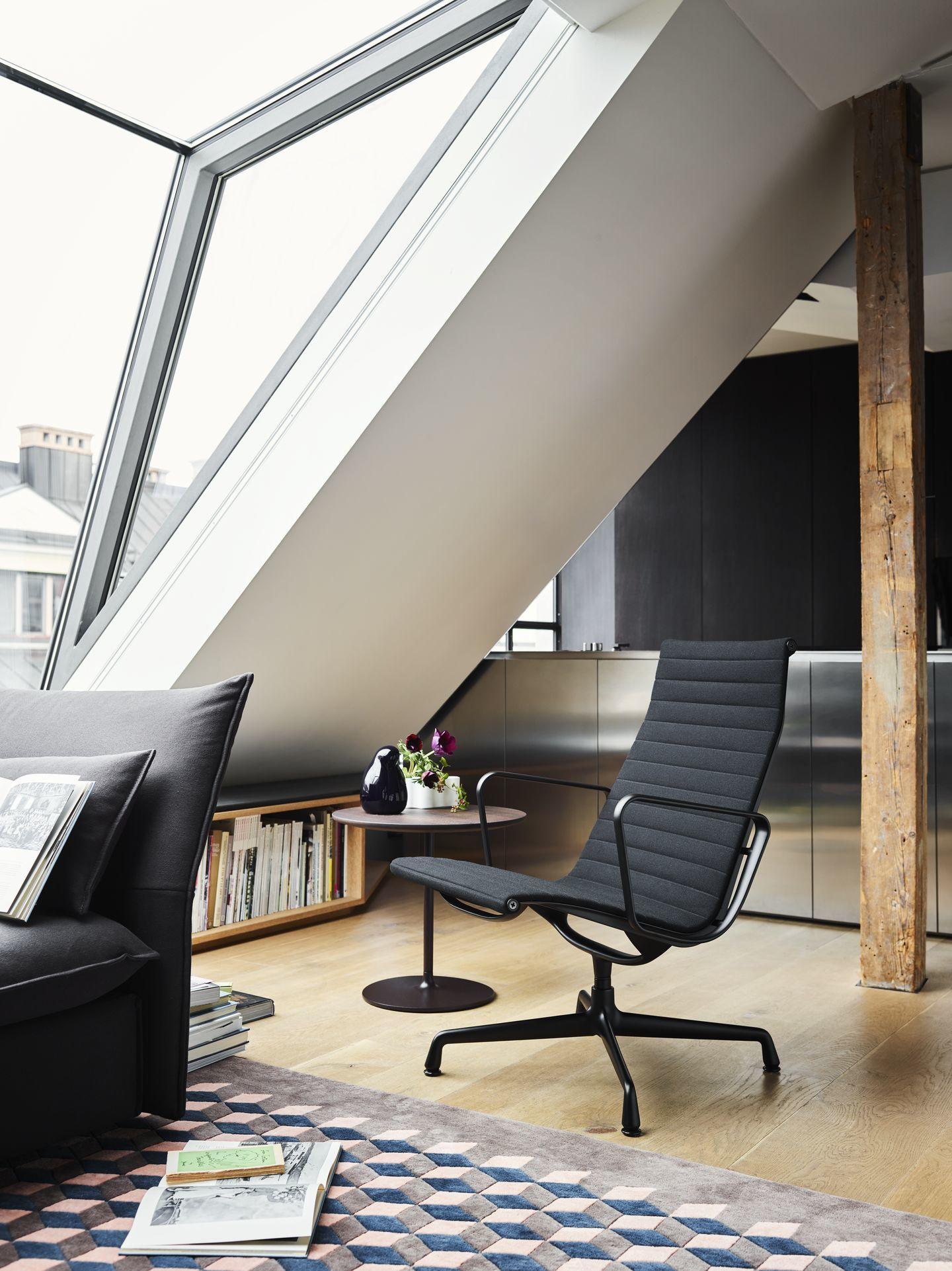 Aluminium Chair EA116 / EA 116 Sessel Drehbar Vitra