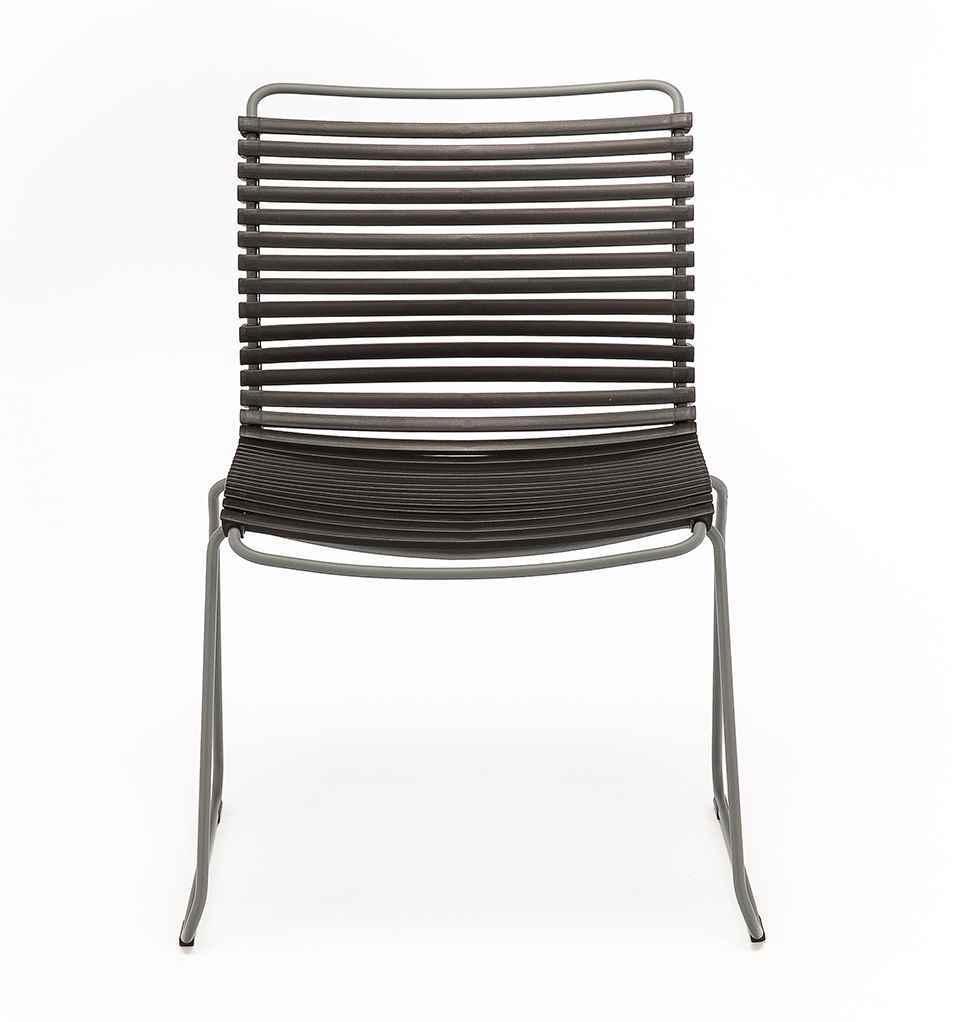 Click Stuhl ohne Armlehne dunkelblau Houe