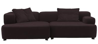 Alphabet 3-Sitzer Sofa Armlehne Links Fritz Hansen
