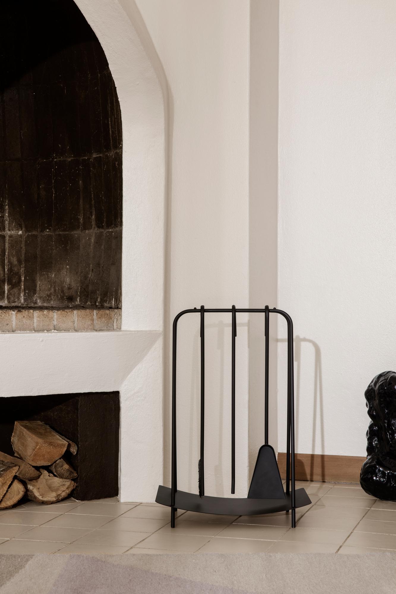 Port Fireplace Tools Kaminbesteck schwarz Ferm Living