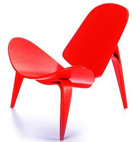 3-benet Skalstol [1963] Miniatur Stuhl Vitra