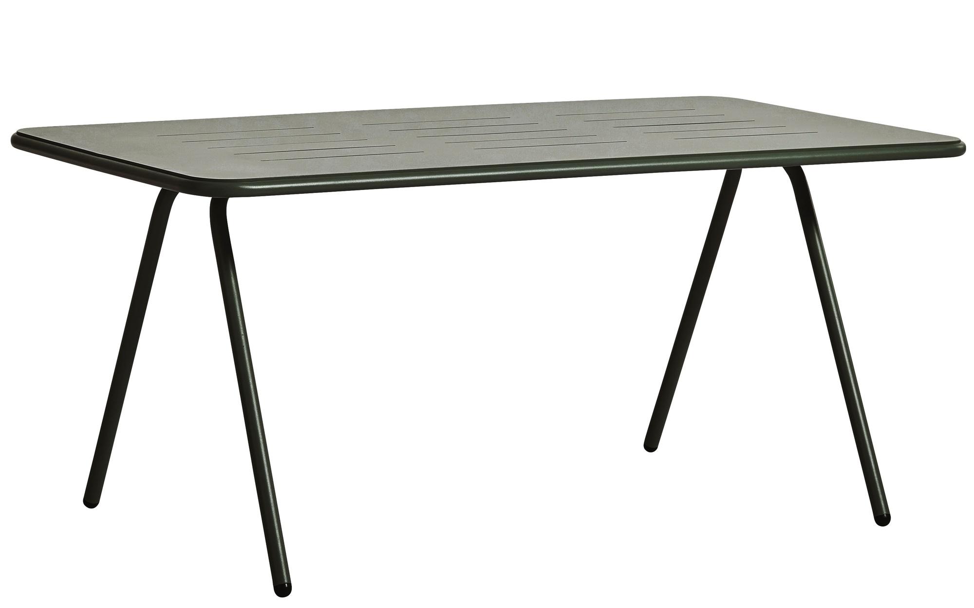RAY Dining Table (160cm) Outdoor Tisch Dunkel grün Woud