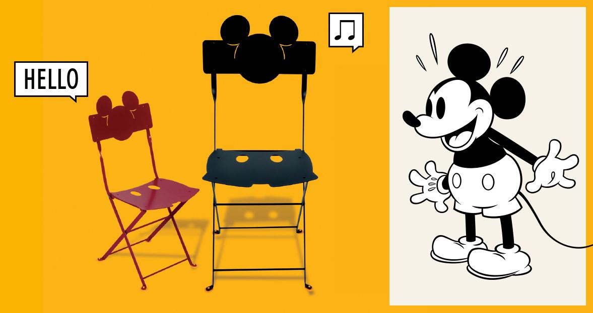 Mickey Mouse Bistro Kinderstuhl Fermob
