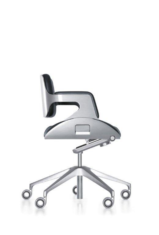 162 Silver Bürodrehstuhl Interstuhl