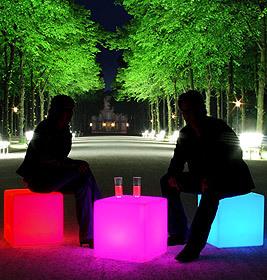 Cube LED Akku Outdoor Lichtwürfel Moree