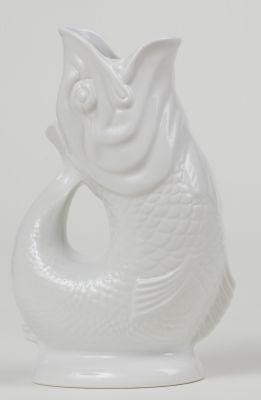 Gluckigluck Karaffe / Vase-weiß