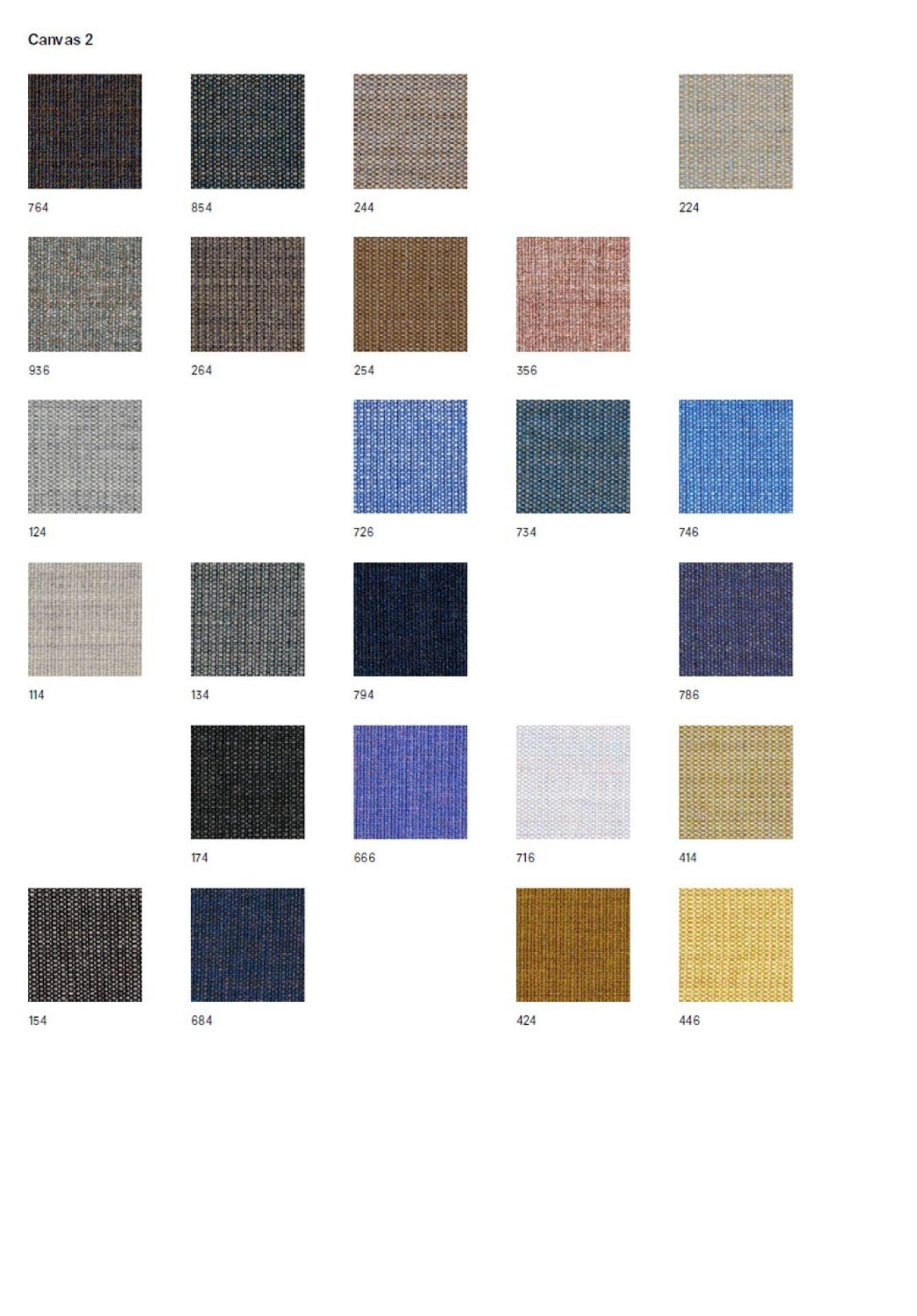 Stoffmusterkarte Canvas Kvadrat