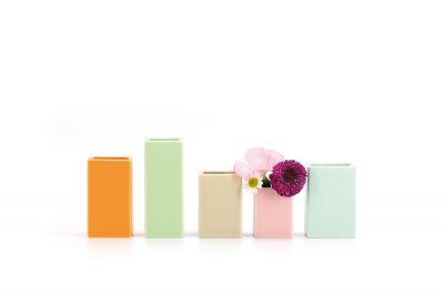 Mini-Vasen 5er-Set Remember