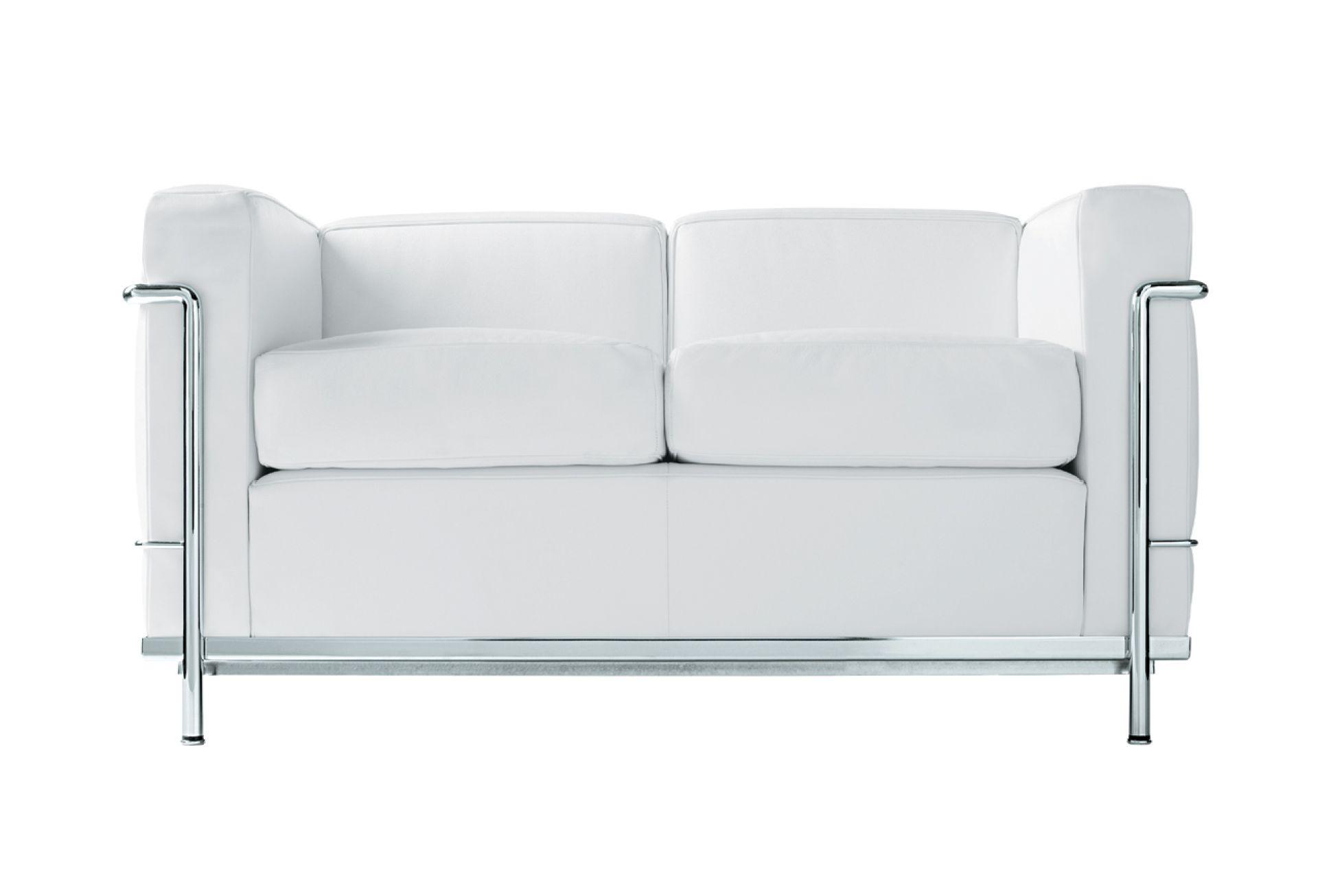 LC2 Sofa Zweisitzer Gestell Chrom Cassina