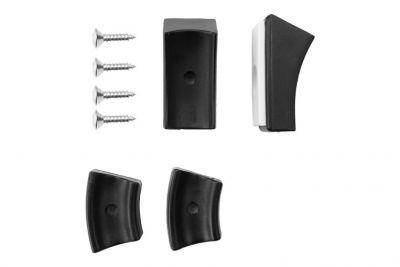 Gleiter für Freischwinger Stühle Thonet Teflon Gleiter schwarz