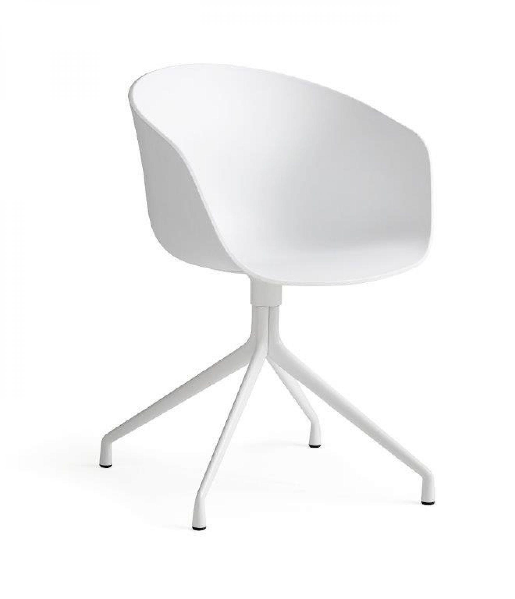 About A Chair AAC20 / AAC 20 Stuhl Schwarz Gestell schwarz pulverbeschichtet Hay