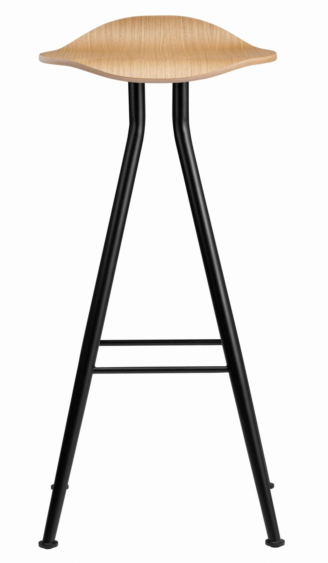 Barfly Bar Chair High Barhocker Norr11 Messing Vintage Leder Camel