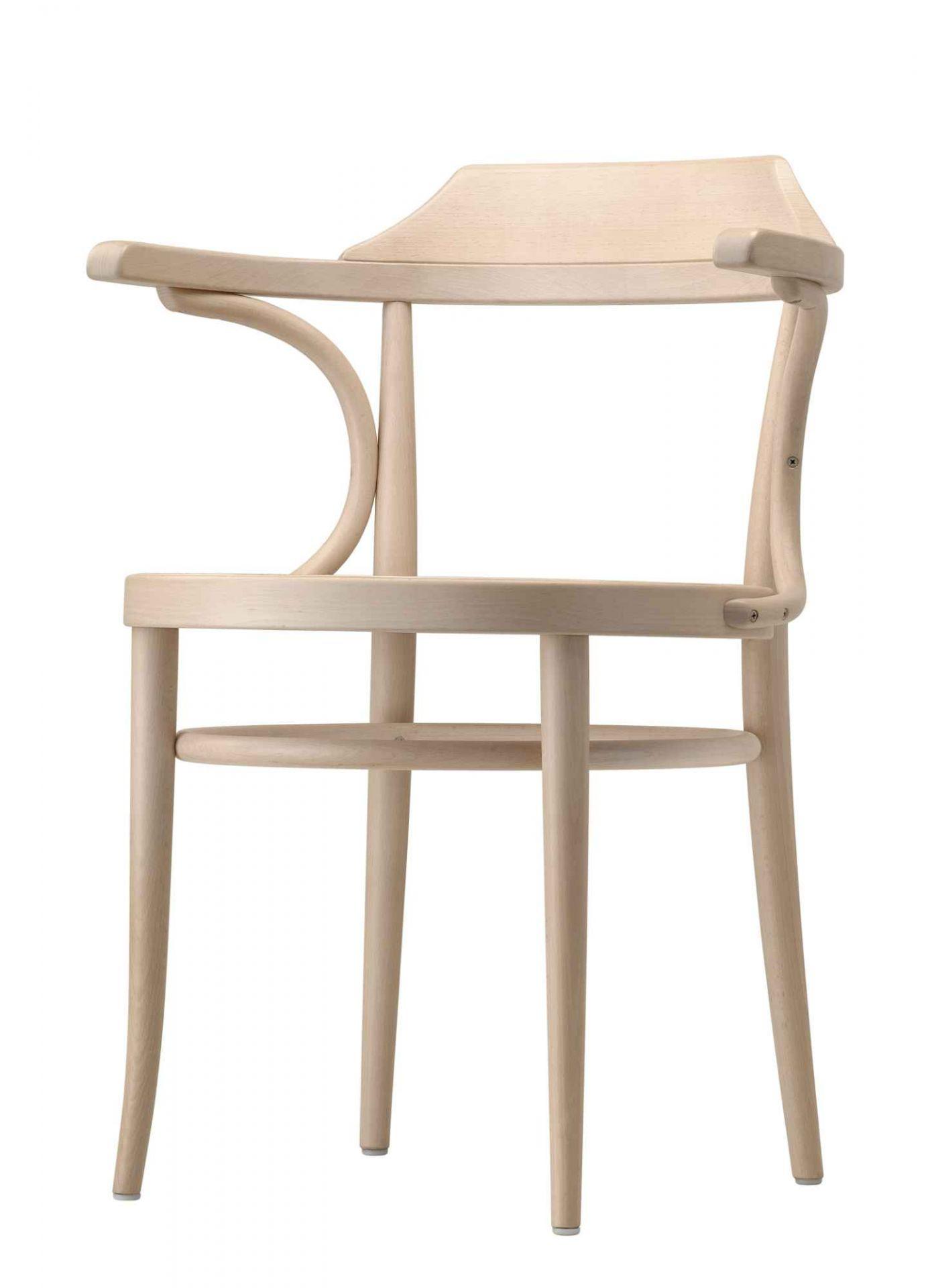 233 M Bugholz Klassiker Stuhl Holzsitz Thonet