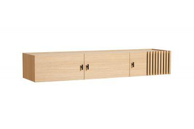 Array Low Sideboard Wandmontiert Woud
