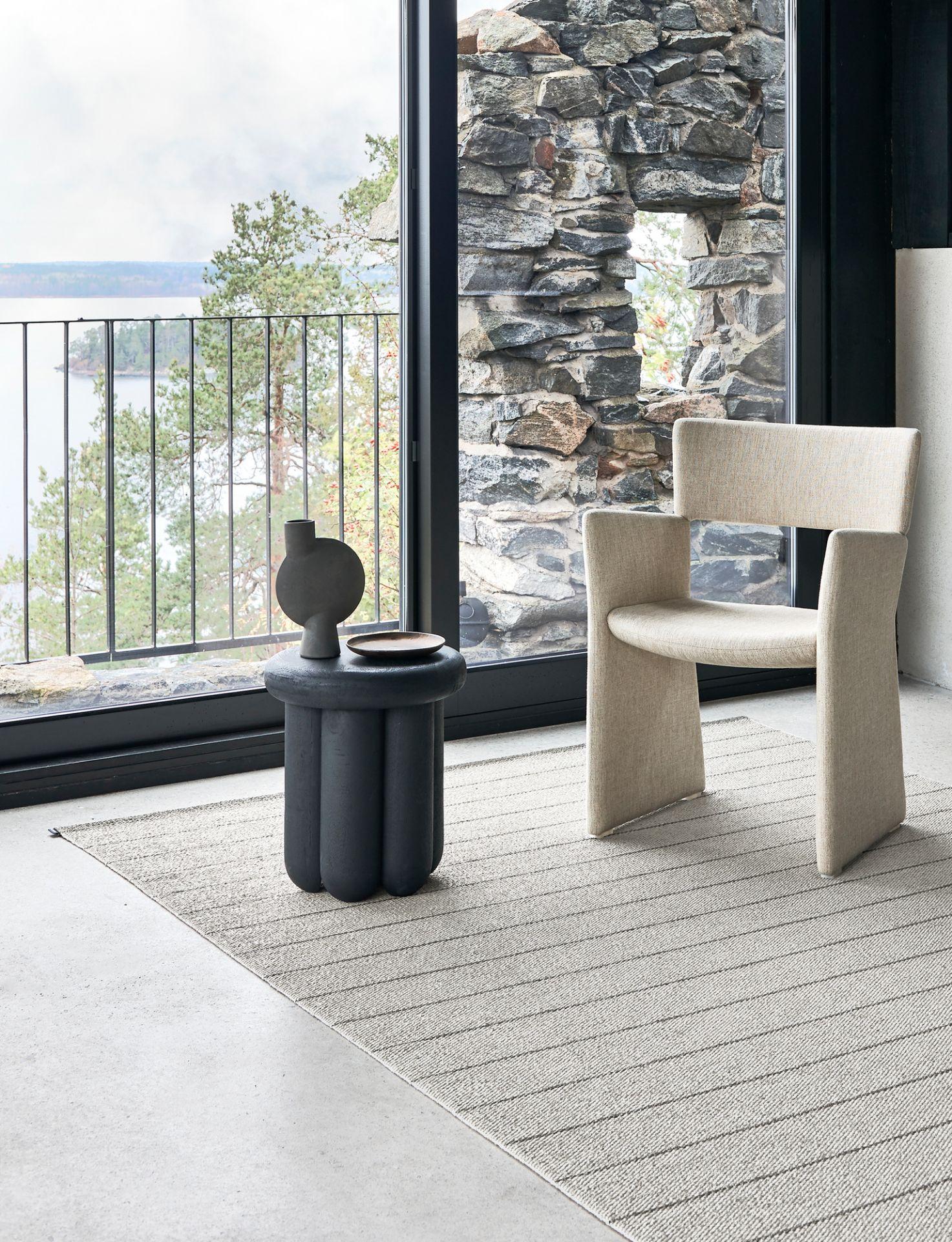 Carl Kunststoffteppich 70x180 cm Pappelina Granit/ Storm