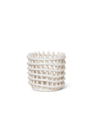 Ceramic Basket Keramik Korb klein Ferm Living