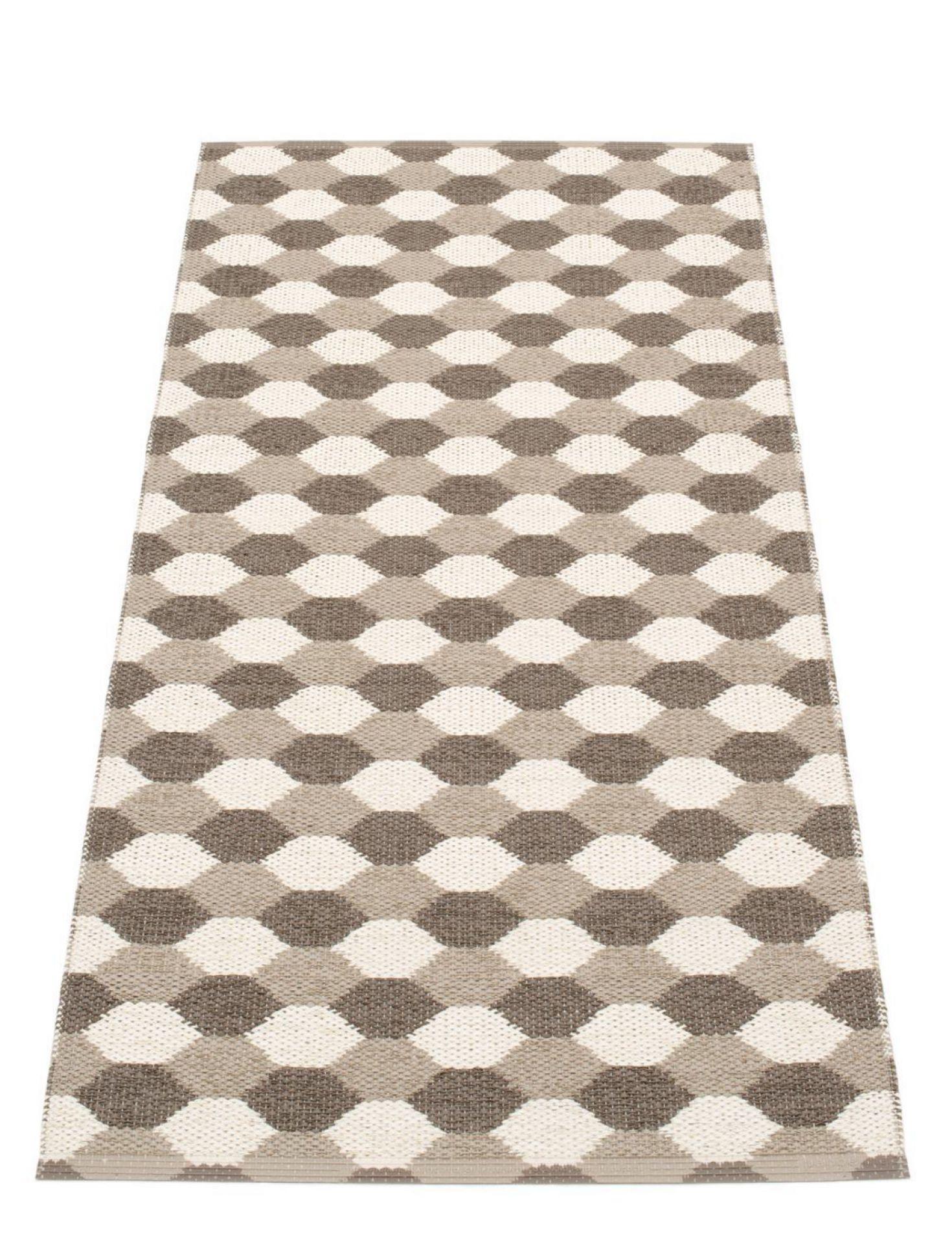 Dana Kunststoffteppich 70x160 schlamm Pappelina