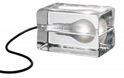 Block Lamp Tischleuchte LED Design House Stockholm-schwarz