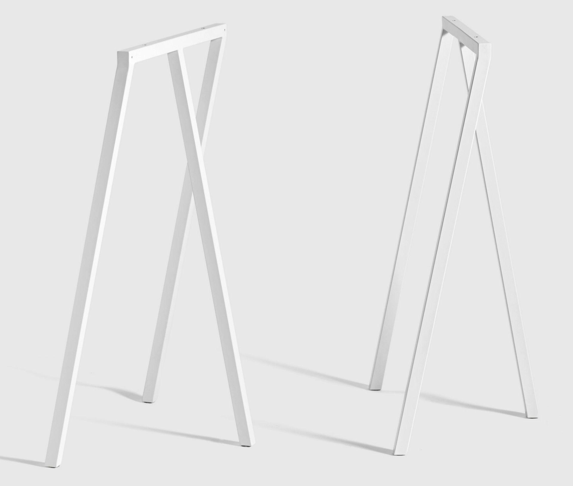 Loop Stand Frame High Hay-weiß