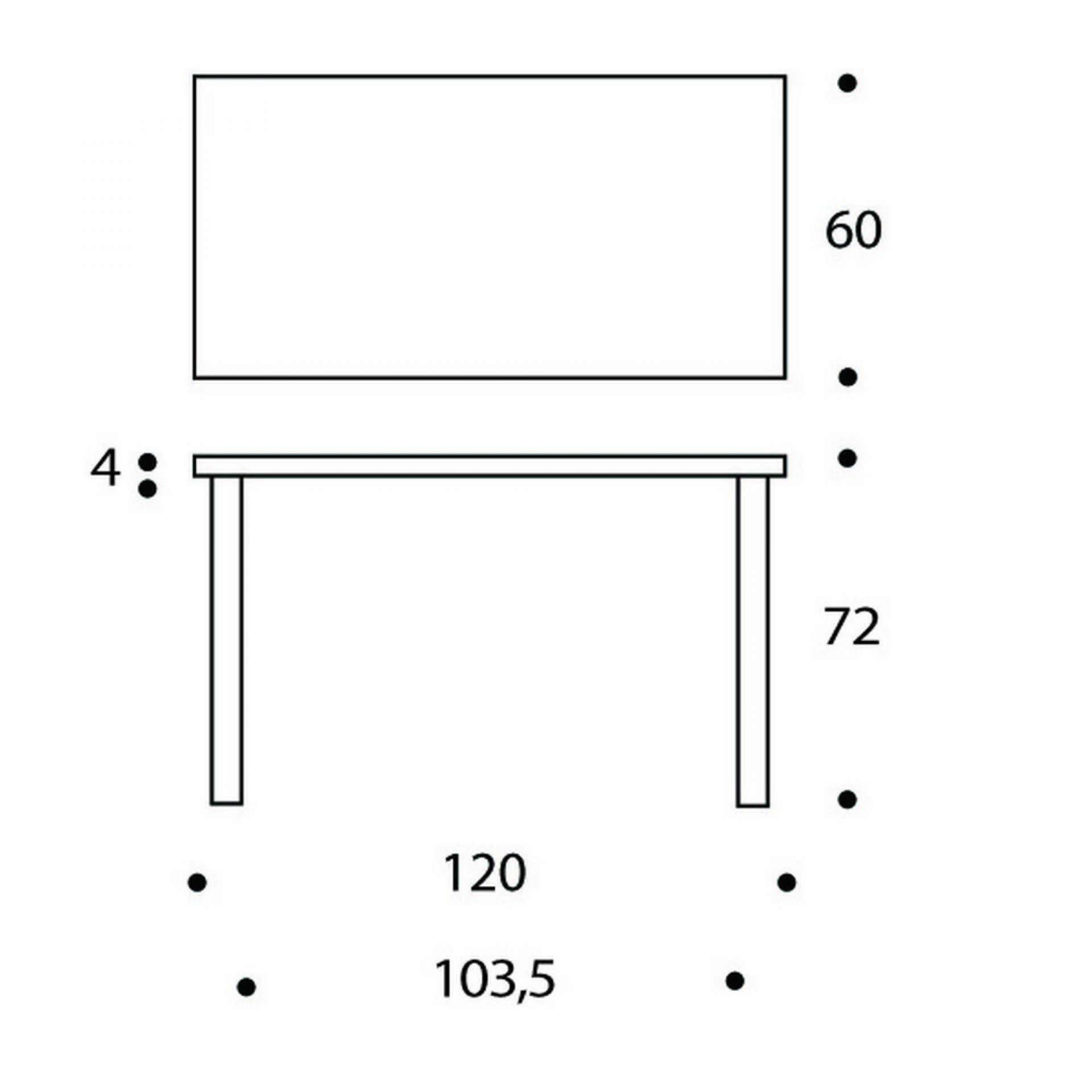80A Tisch Artek