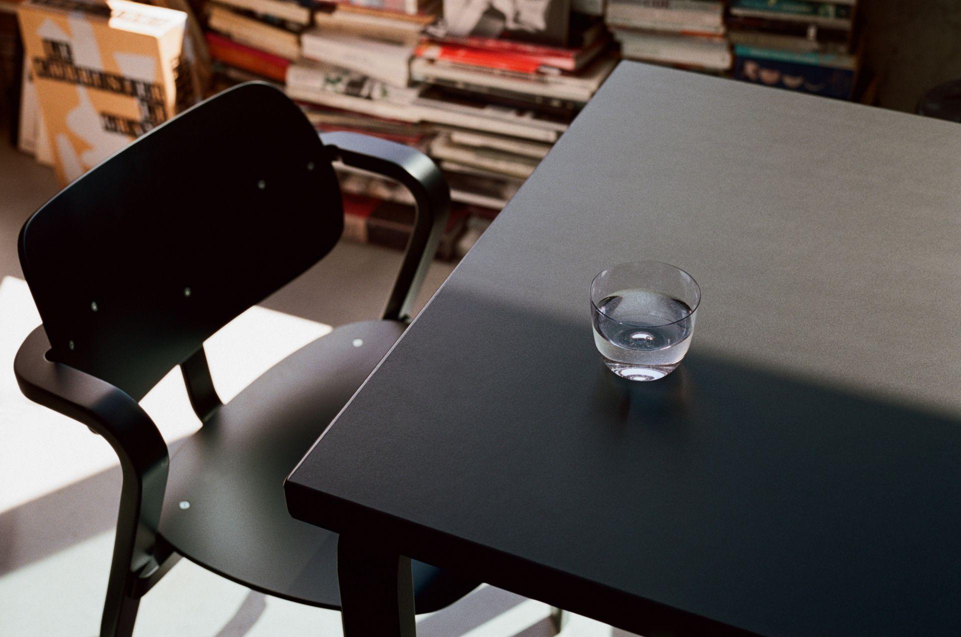 Aslak Chair Stuhl Artek Grau lackiert