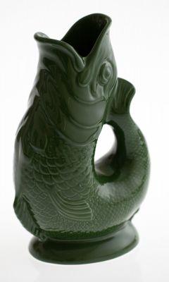 Gluckigluck Karaffe / Vase-dunkelgrün