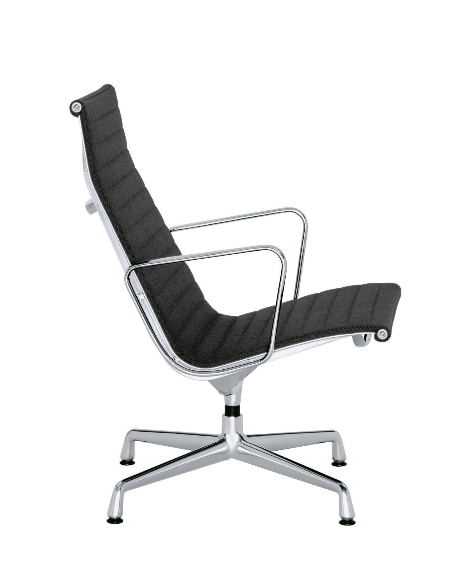 Aluminium Chair EA115 / EA 115 Sessel nicht drehbar Vitra