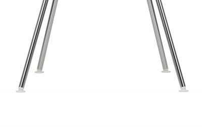 Kunststoffgleiter Satz für Eames Plastic Chair DSX, DAX, DKX, DAL Vitra-Weiß