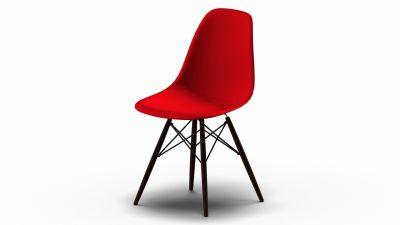 Eames Plastic Side Chair DSW Stuhl Vitra AUSLAUFFARBEN