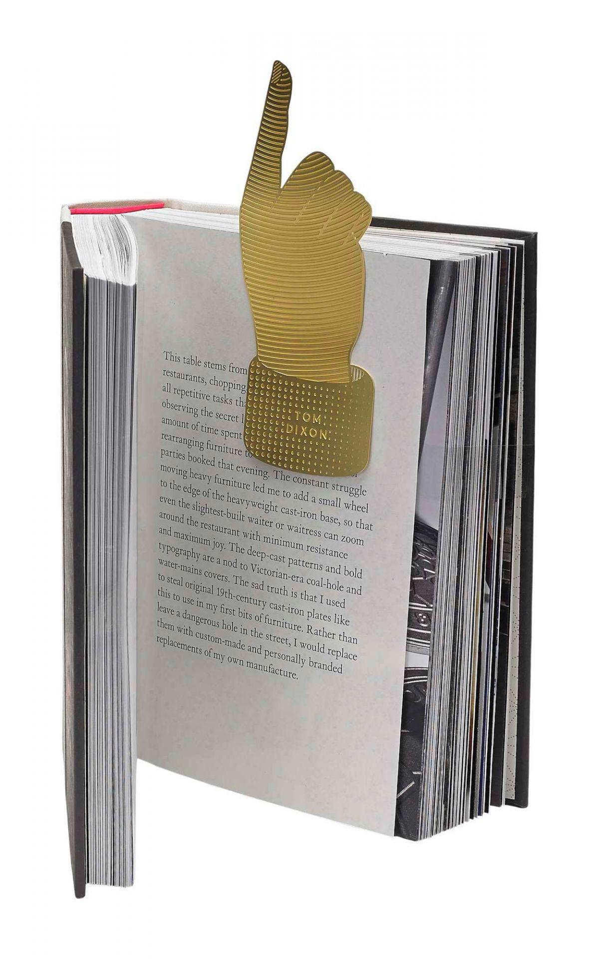 Tool the Bookworm Hand Lesezeichen Hand Tom Dixon