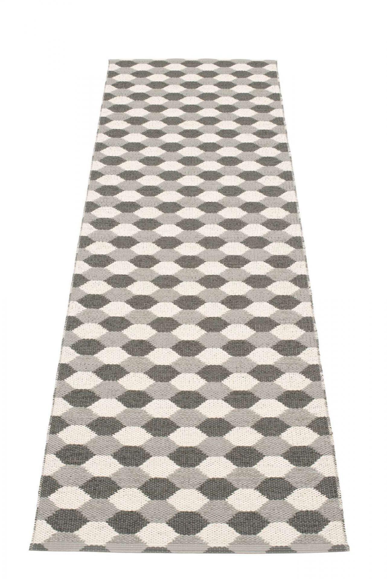 Dana Kunststoffteppich 70x250 grau Pappelina